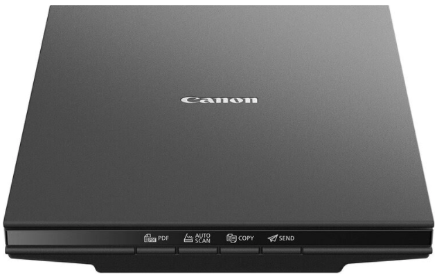 This Canon scanner is small enough to fit into a suitcase but powerful enough to keep your creative work going no matter where you are.