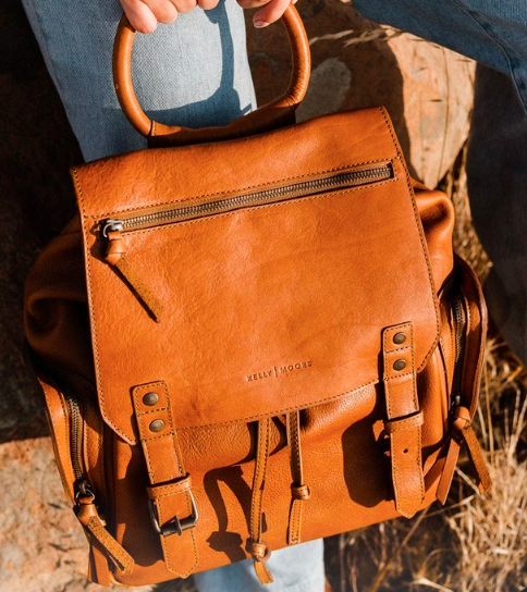 Kelly Moore bags are heralded for being both beautiful and sustainable.