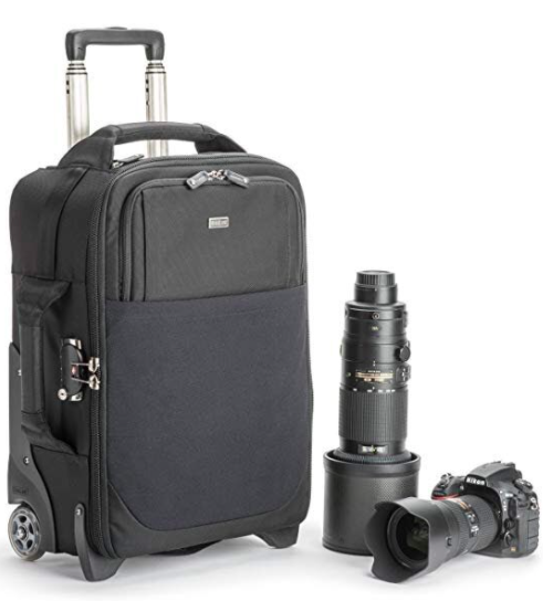 Think Tank roller bags make traveling with your art supplies easy and stylish.