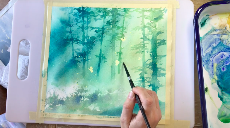 Watercolor painting can take you in almost any creative direction!