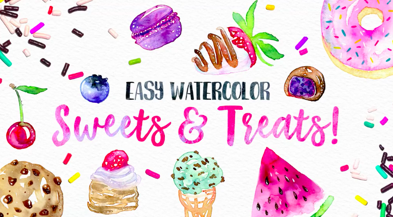 This is a great choice for beginners who are looking for a fun watercolor project!