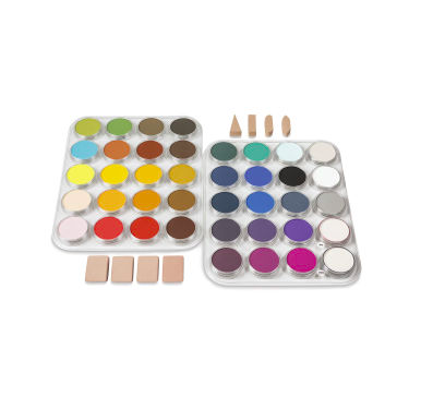 PanPastel palettes look more like paint than pastels!