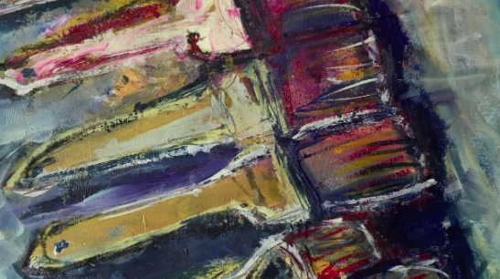 Your oil paint brushes can even be a good subject for an oil painting!