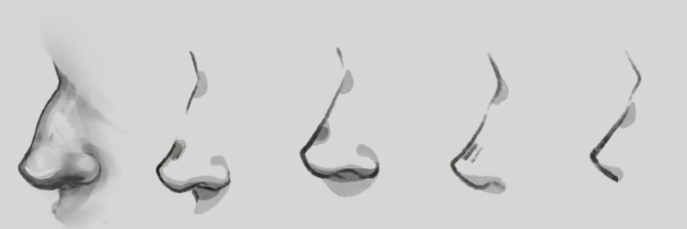 Learn how to draw the perfect nose for your anime character.