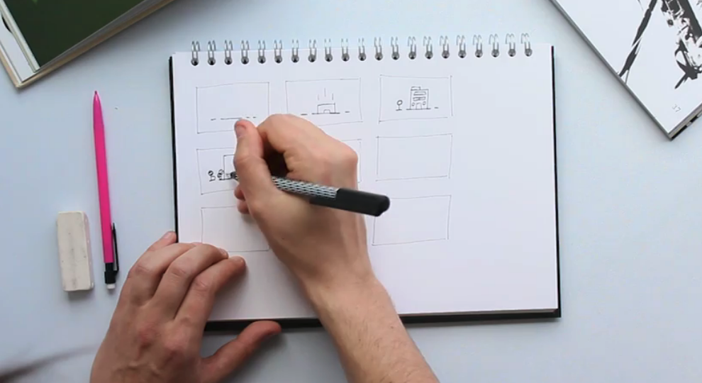 Storyboarding and scripting are critical elements to work on before you start filming any video content.