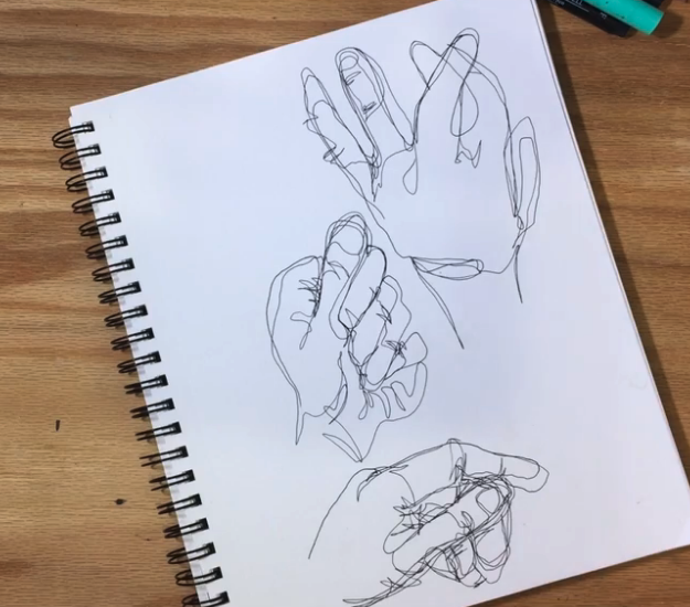 Draw until you feel that your work is complete or when your timer goes off. Keep practicing and your perseverance will pay off, as Skillshare instructor Chris Glover demonstrates.