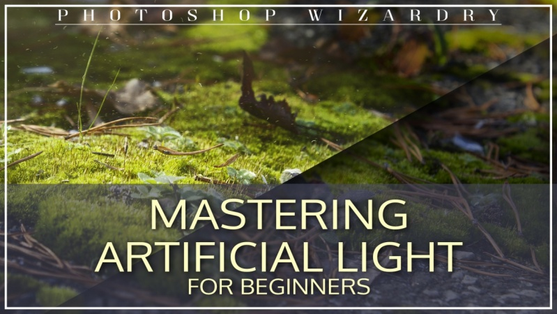 Simply Malberine  shares their process for mastering artificial light, while creating an epic photo in Photoshop.
