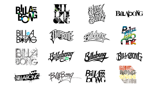 Ray Dombroski  builds credibility by sharing multiple examples of his previous typography work.