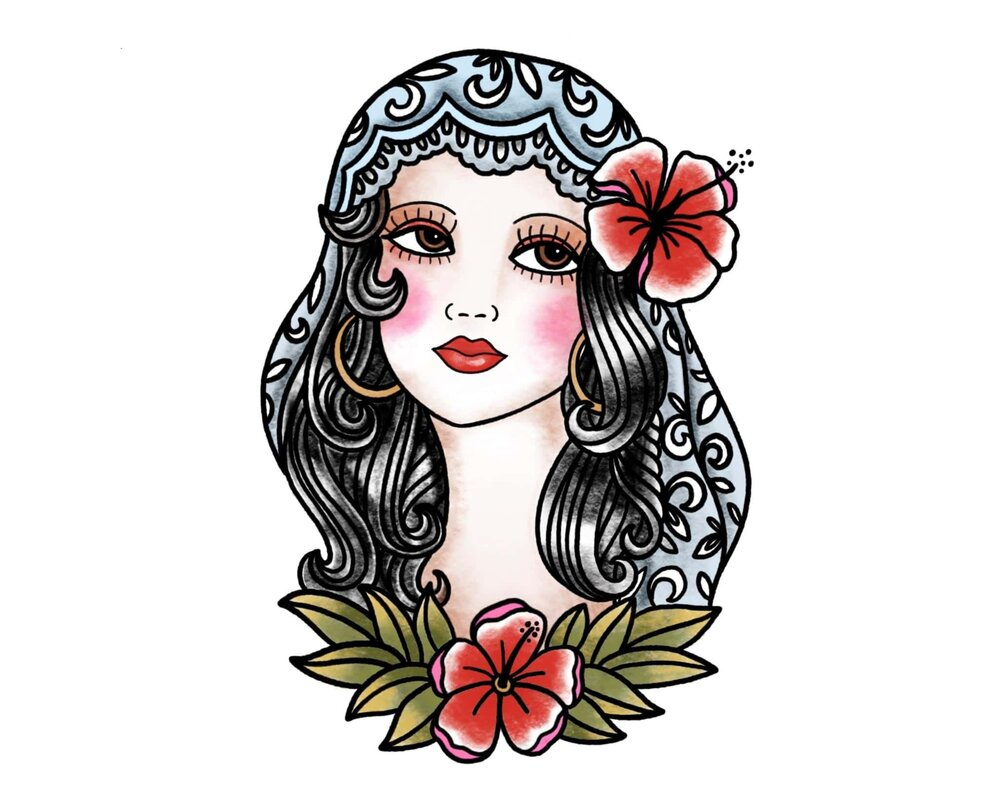 tattoo design procreate