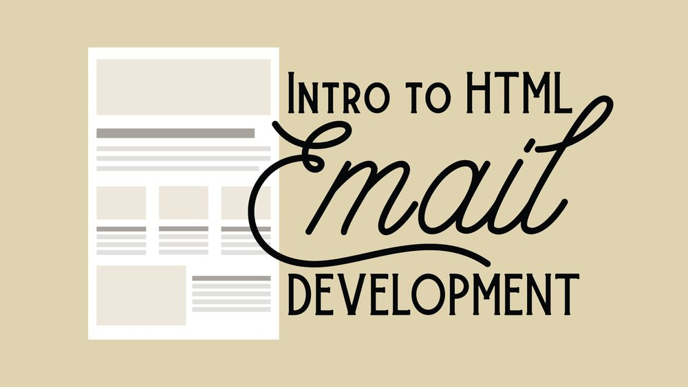 Vanessa demonstrates the basics of coding an HTML email
