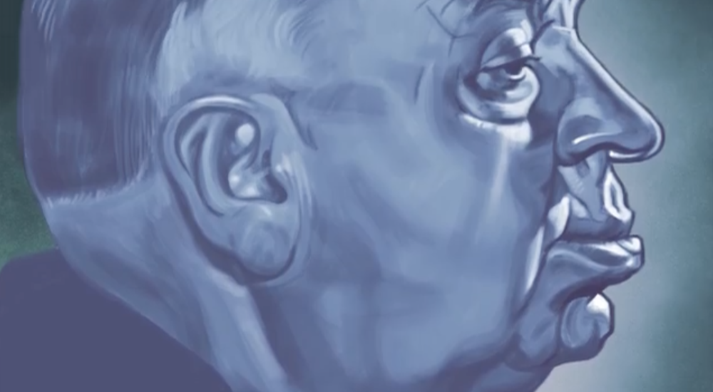 Image from Joshua Johnson's Skillshare class, Drawing Faces: How to draw a portrait