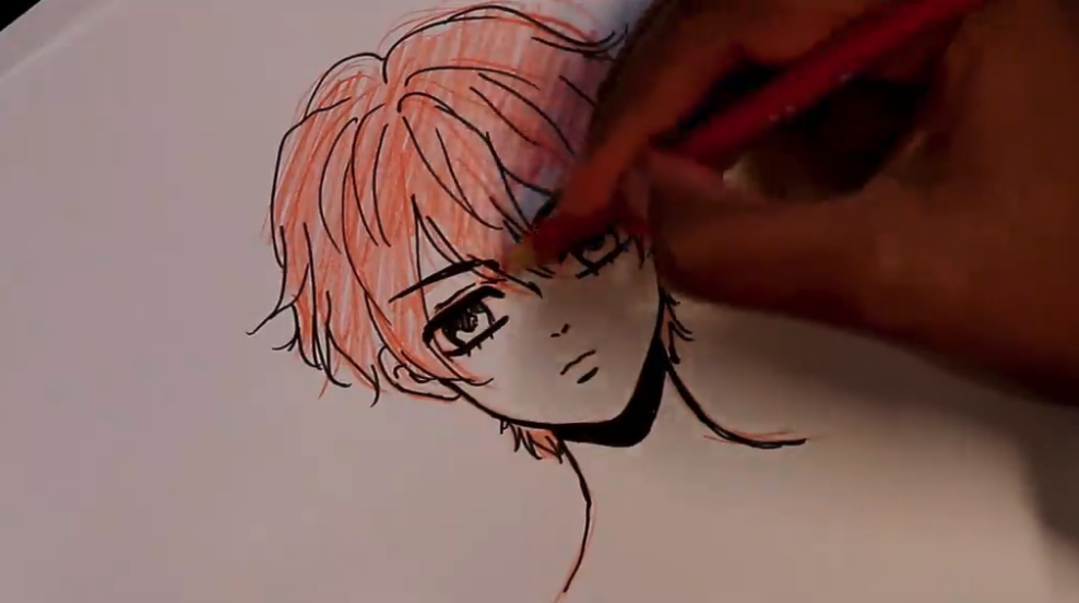 Adding the finishing touches completes your boy anime drawing!