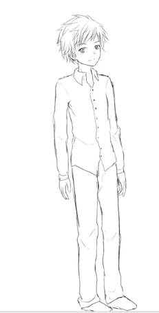 Simple outfits are the best place to start when you're learning how to draw anime clothes.