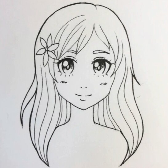 Female anime characters are straightforward to draw by following these steps.