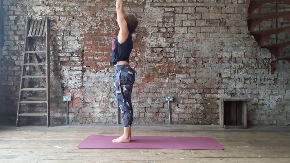 Yoga is a great way to quickly calm the body and mind, no equipment required.