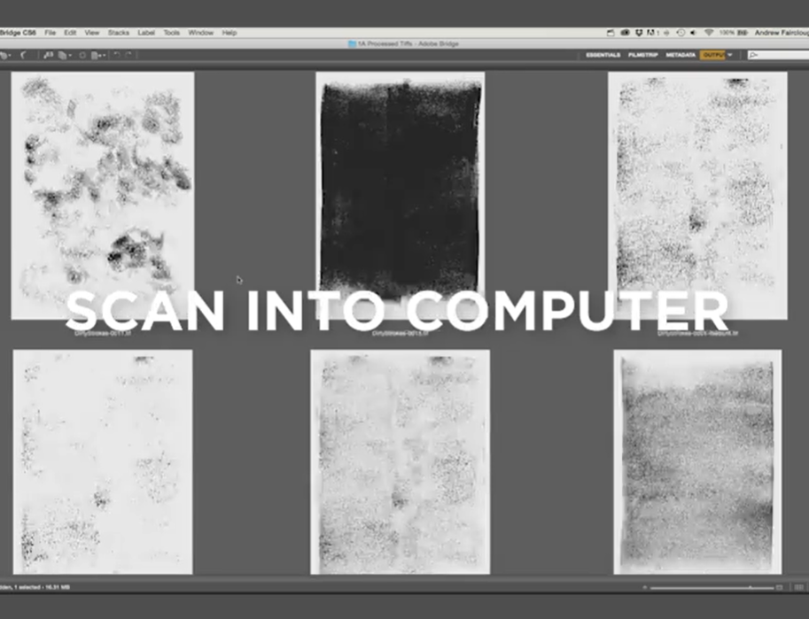 Scan your textures into your computer and play around.