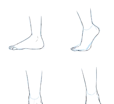 To enhance your anime character design, learn how to draw feet and toes.