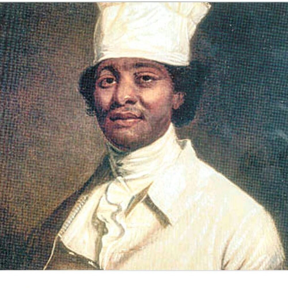 James Hemings, and first American chef trained in France.