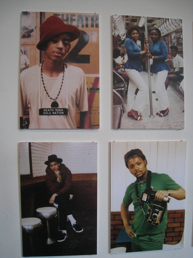Portraits by Jamel Shabazz hung on a wall. © Creative Commons.