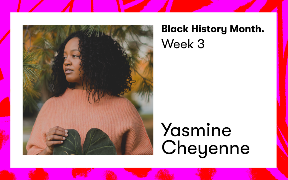 This week, self care practitioner, teacher, and wellness advocate Yasmine Cheyenne introduces us to the many multitudes of Dr. Maya Angelou.