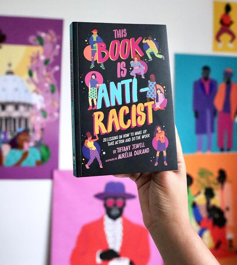 Win a copy of This Book is Anti-Racist with illustrations by Aurélia Durand