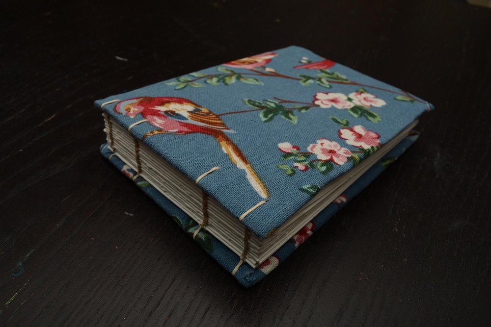 Handmade book and image by Skillshare student Annie QQ