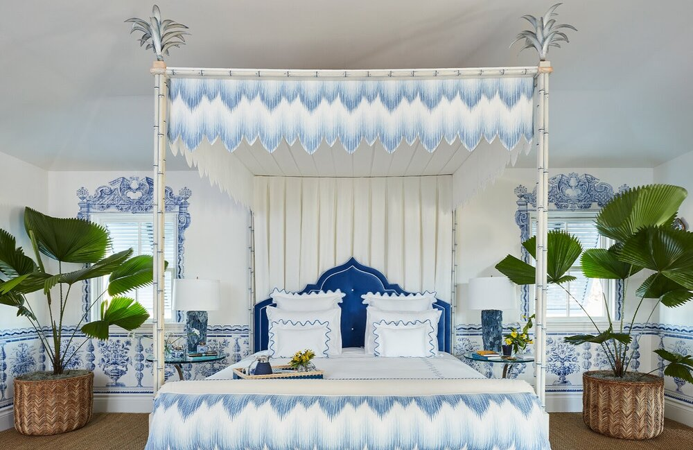 This bedroom design by Alessandra Branca will put your head in the clouds.