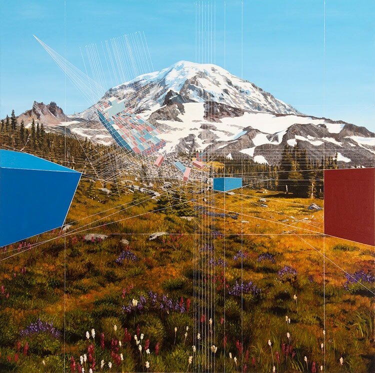Shipwreck (2017), Mount Rainier National Park by Mary Iverson