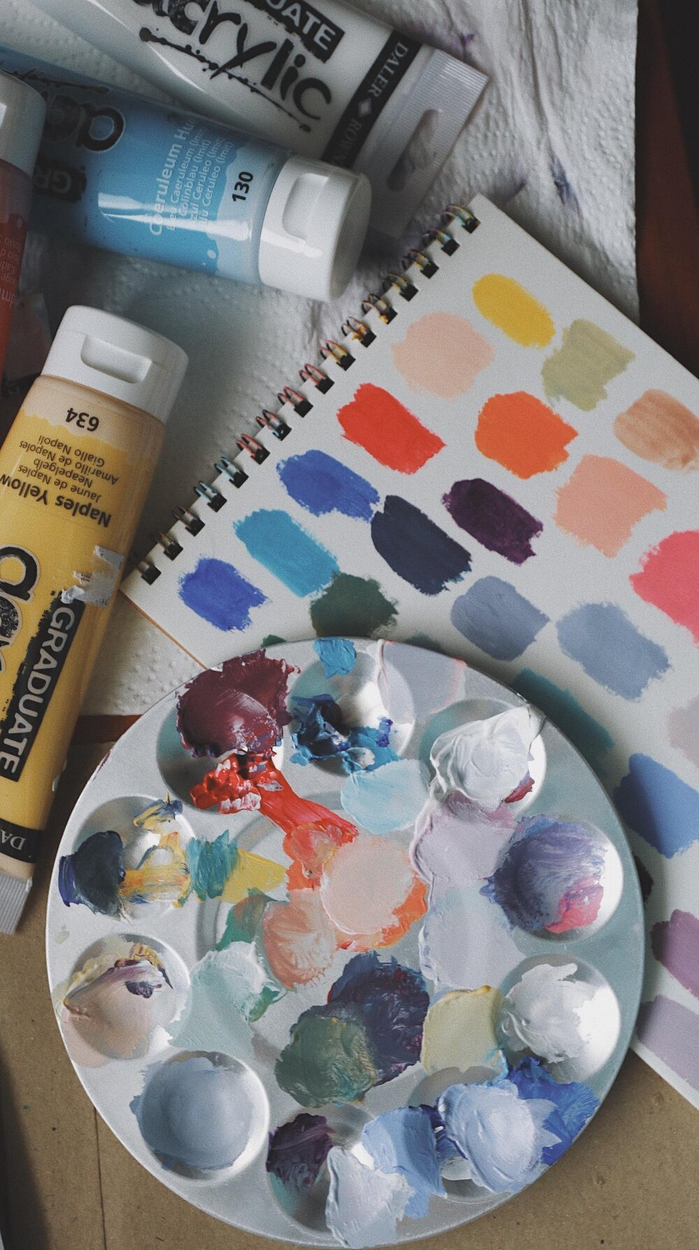Photo from Skillshare student Pam L. for    Acrylic Painting: Learn the Basics For Beginners.