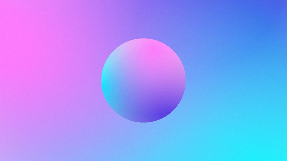 Image by Skillshare student Brenna N. for  Mastering Gradients in Illustrator