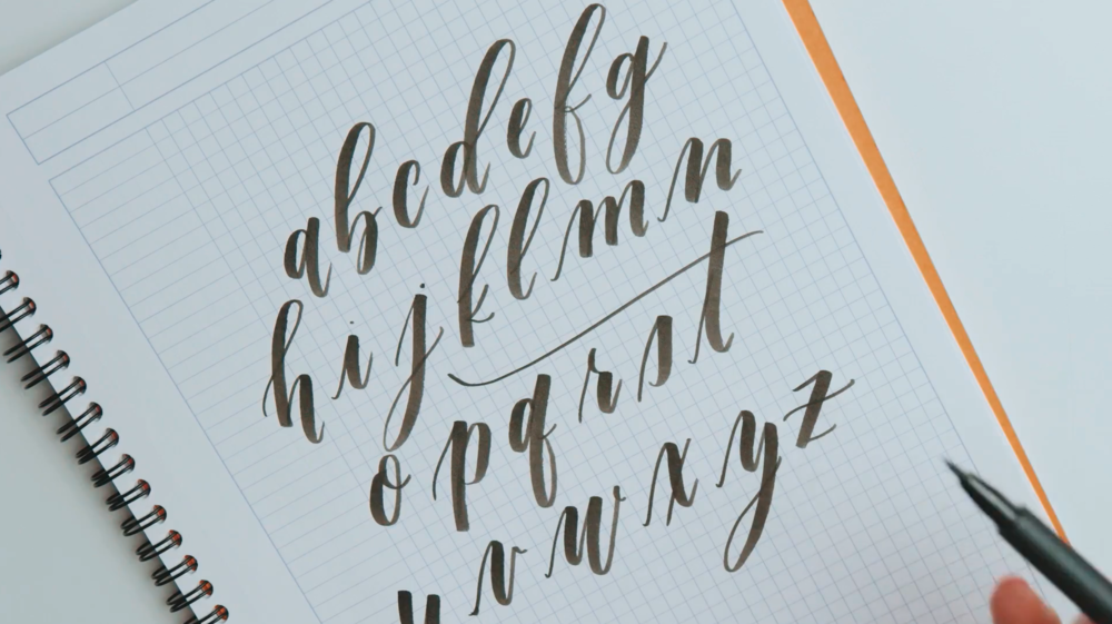 """From Kimberly Shack's Staff Pick, """"Introduction to Modern Brush Calligraphy"""""""