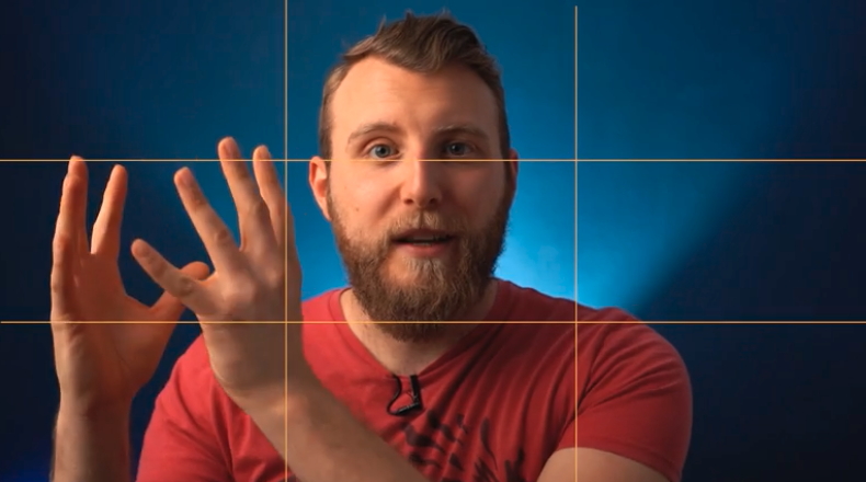 Skillshare instructor Dennis Schrader explains the rule of thirds in his class,  Framing and Composition for Videography .