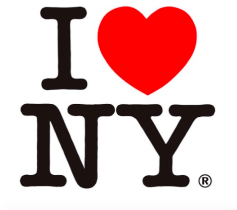 This iconic New York logo was created by Milton Glaser—originally drawn on a scrap paper with a red crayon. | Retro Design Mega Guide by Skillshare