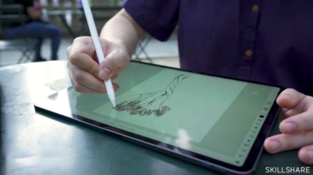 Designed to be used primarily on tablets and smartphones, Adobe Fresco is a great digital painting platform for artists on the go.
