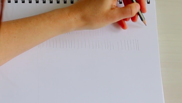 Even basic mark-making is important when learning to draw.