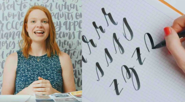 Grab a brush pen and practice those letters to achieve calligraphy greatness.