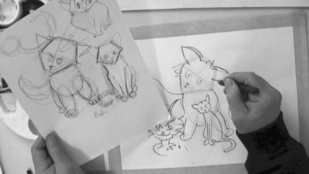 Bring drawings to life by learning to draw three-dimensional characters.