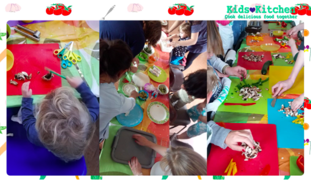 Kids love experimenting in the kitchen, from start to finished product.