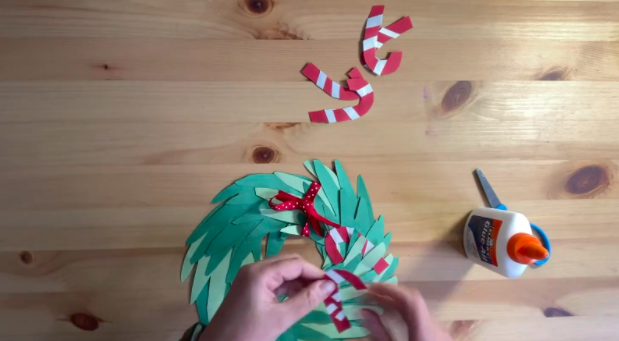 'Tis the season to make a cute wreath at home with supplies you likely already have.
