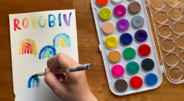 Brighten even the dreariest day with colorful guided watercolor projects.