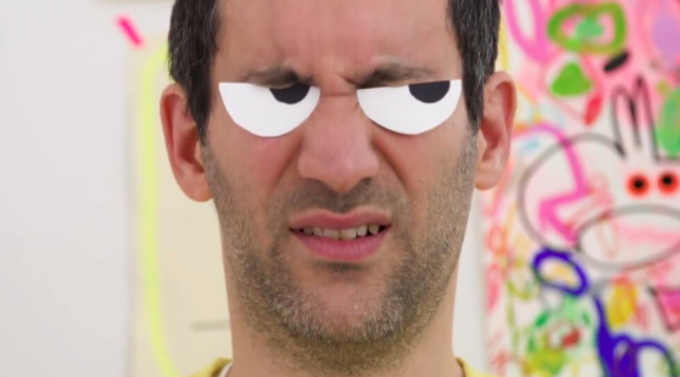 On days when your family could use a laugh, check out Jon Burgerman's googly eyes tutorial and grab a camera.