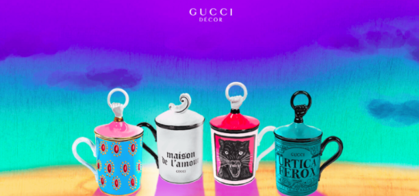 Gucci's simple, yet colorful design catapulted it to Muzli's Pick of the Week status.