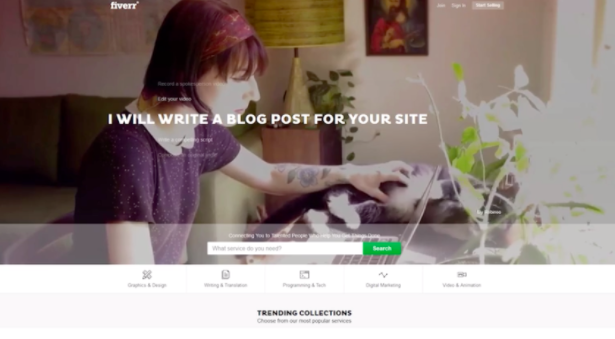 Sites like Fiverr can help new freelancers bring in business right away.