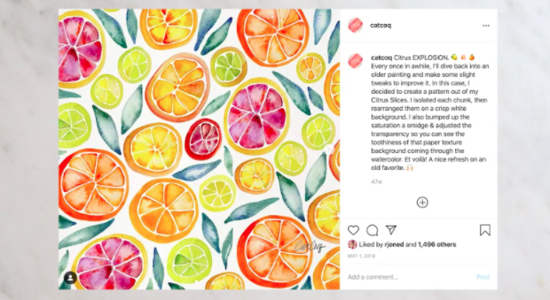 Instagram is a great place to connect with fans and customers.