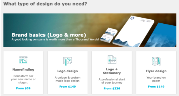Crowdsite is a crowdsourcing platform for brand basics, naming and taglines, and more.
