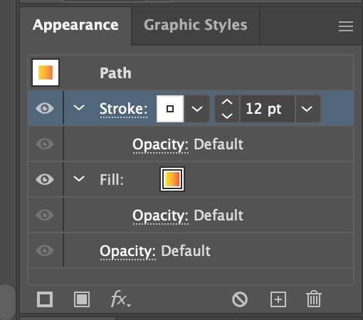 Give your lines more definition in the Appearance menu.