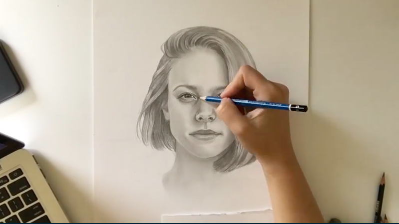 Learn how to draw realistic faces with Skillshare instructor and illustrator Morgan Swank.