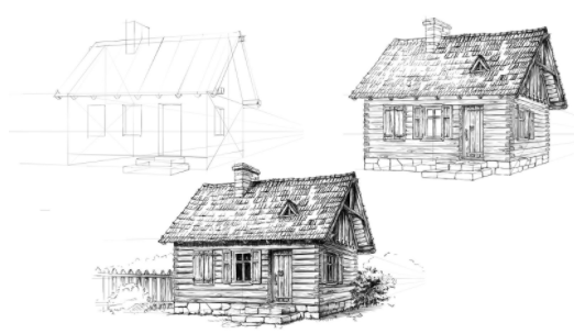 See how Skillshare instructor Elwira Pawlikowska goes from simple sketch to detailed masterpiece.