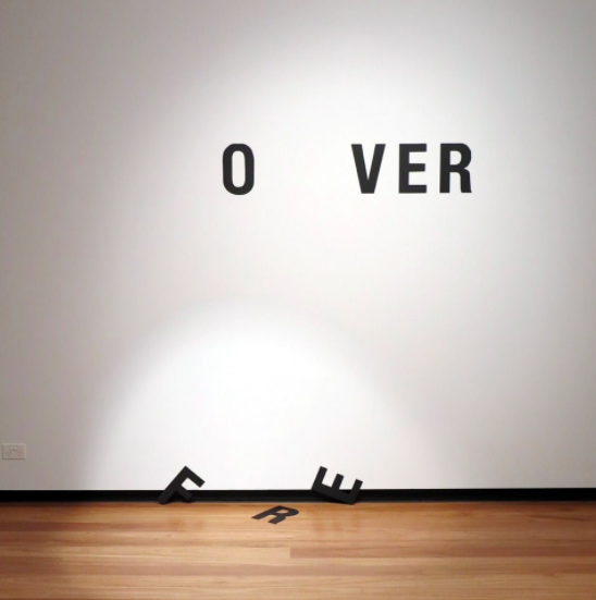 """""""nothing lasts forever, 2009"""" (exhibited at Town Hall Gallery in Melbourne in 2014) © Anatol Knotek"""