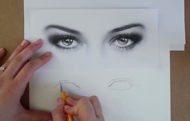 Continue to finesse your eye shape and add eyelids based upon your reference photo.